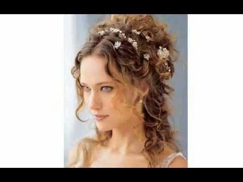 Risultati immagini per acconciature sposa capelli ricci
