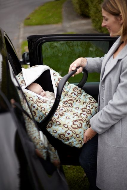 Use both in car and out and about, ensure baby is safe and not wearing any bulky clothes or snowsuits under their harness