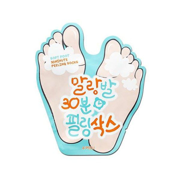 Get ready for sandal season with this foot treatment, which will make your feet baby soft. Just make sure to plan ahead: while the alpha and beta hydroxy blend takes only thirty minutes to apply, your feet will start to peel several days later. And then, voila!  A'Pieu Soft Foot 30-Minute Peeling Socks, $5,  In-Store Only nordstrom.com/pop
