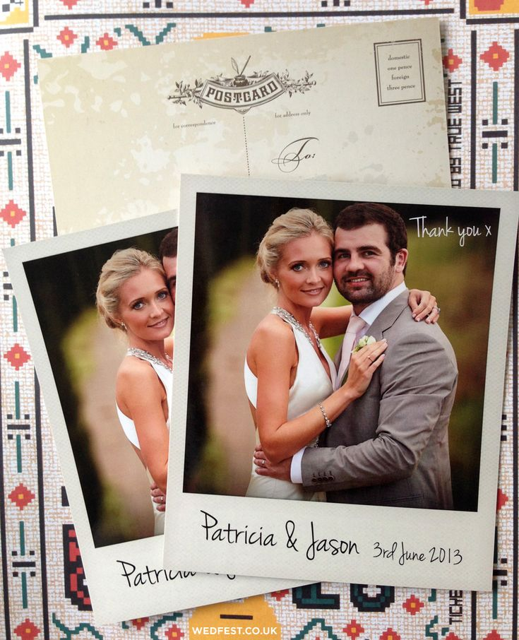 personalized wedding thank you notes%0A Wedding Photo Thank You Cards   WED FEST