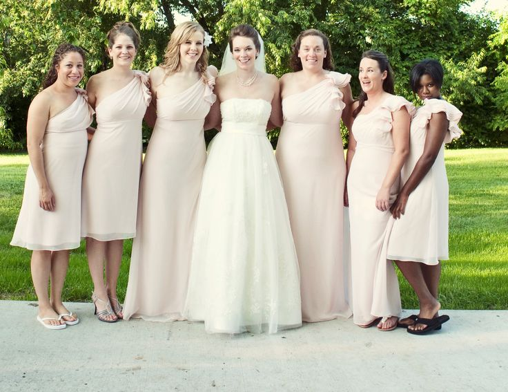Blush Colored Bridesmaid Dresses | SHOW ME: Blush Colored BM Dresses! - Project Wedding Forums