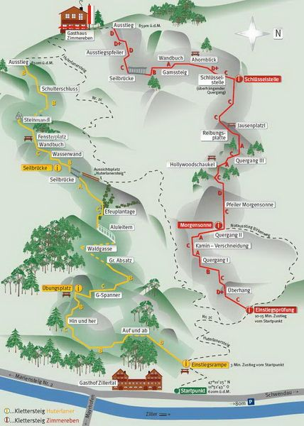 Hutelaner Klettersteig