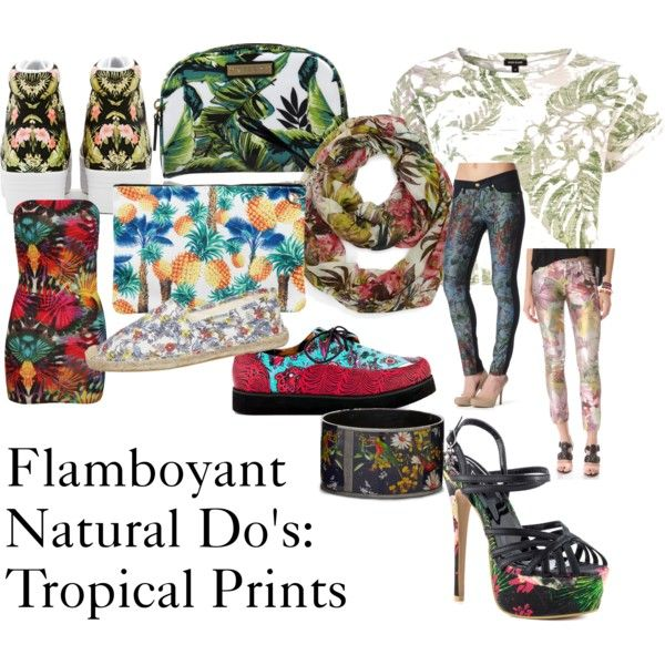 """Flamboyant Natural Guidelines: Prints #4"" by furiana on Polyvore"