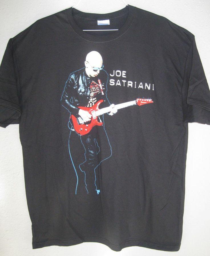 Joe Satriani Tour T Shirts