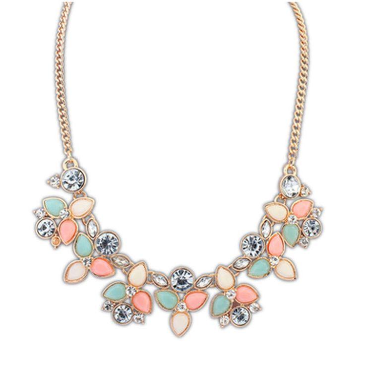 Chain Choker Statement Necklace Women Collier Vintage Maxi Necklace Bib Necklaces Pendants Jewelry