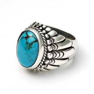 Large Navajo Ring - The Great Frog London