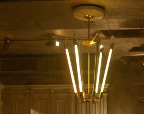 Best Art Deco Messing Kronleuchter Bestens geeignet um gro e und hohe R ume sparsam zu beleuchten Sei Art Deco Messing Kronleuchter u antik in Berlin