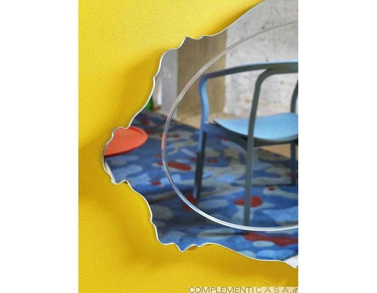 Specchio design da parete ovale Lady O Miniforms