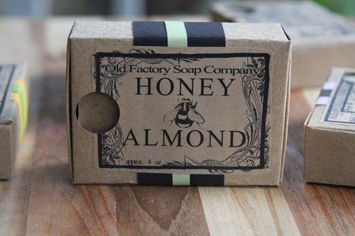 organic soap packaging