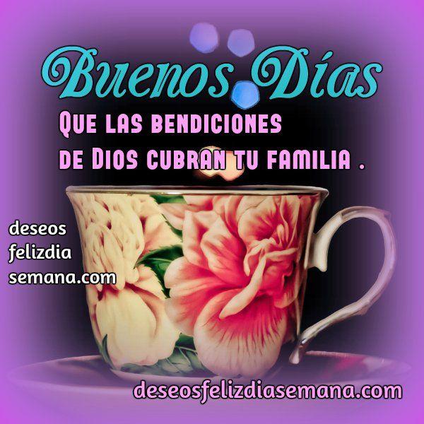 Buenos Dias Inicio Dia Frases Imagen Cristiana Bendicion