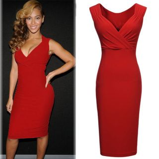 Buy red evening dress