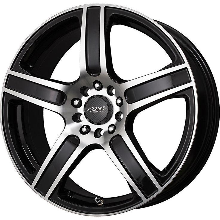 8 best rim 16 images on pinterest RAV4 2012 Engine 1 17x7 42 offset 5x110 5x115 mb motoring icon black wheel rim