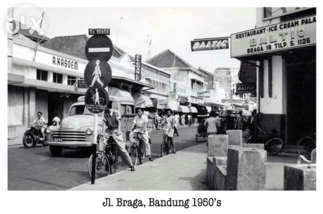 Jl.Braga, Bandung 1950