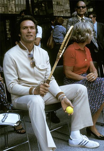 Clint Eastwood. #Adidas