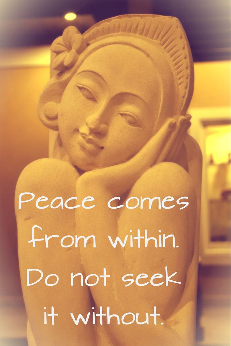 innerer frieden #peace #zitate | frieden | pinterest | zitate und