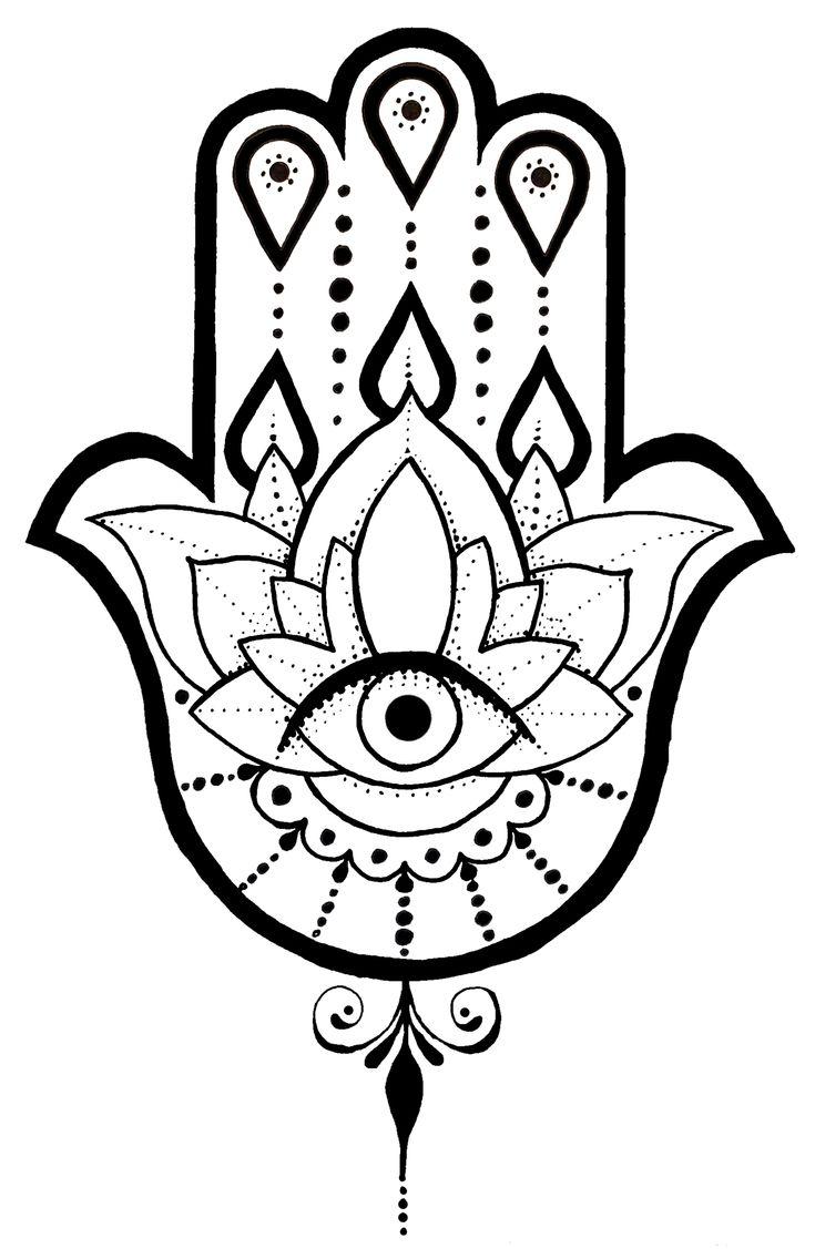 Simple Hamsa Design