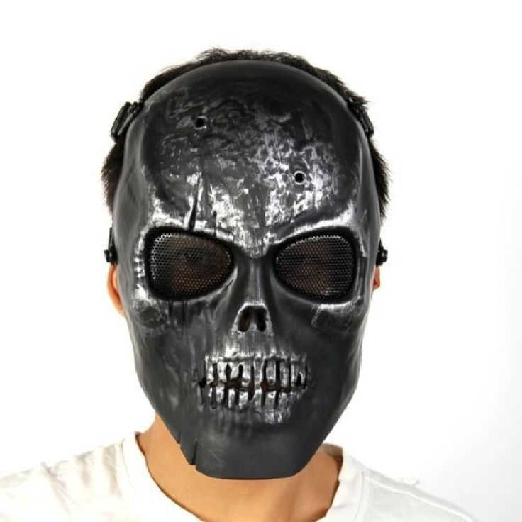 Scary Mask High Impact Strength Skull Airsoft Paintball BB Gun Game Full Skeleton Face Protect Mask Masquerade Masks