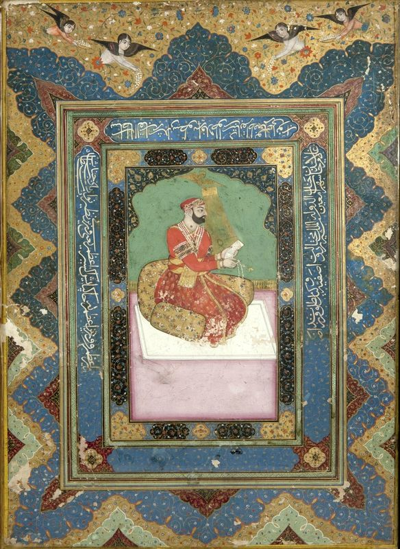Portrait of Ghulam Sayyid Khan Chief Minister of Hyderabad, India, Deccan, 18th century