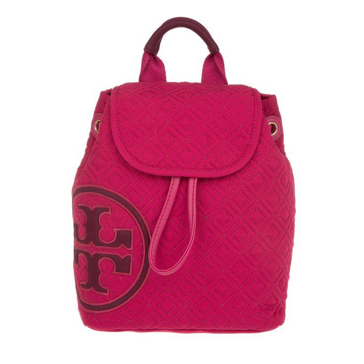 Tory Burch Penn Quilted Nylon Mini  Backpack Raspberry bei Fashionette