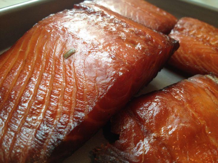 Awesome Smoked Salmon on the Big Green Egg - http://greeneggblog.com/smoking-salmon-on-the-bge/