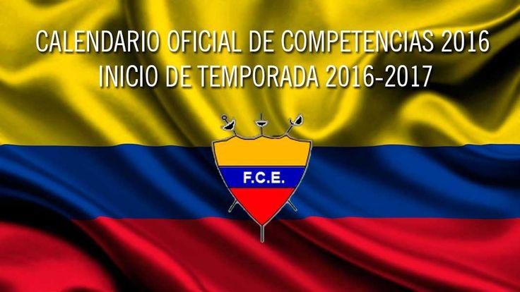 CALENDARIO OFICIAL DE COMPETENCIAS DE ESGRIMA EN COLOMBIA 2016
