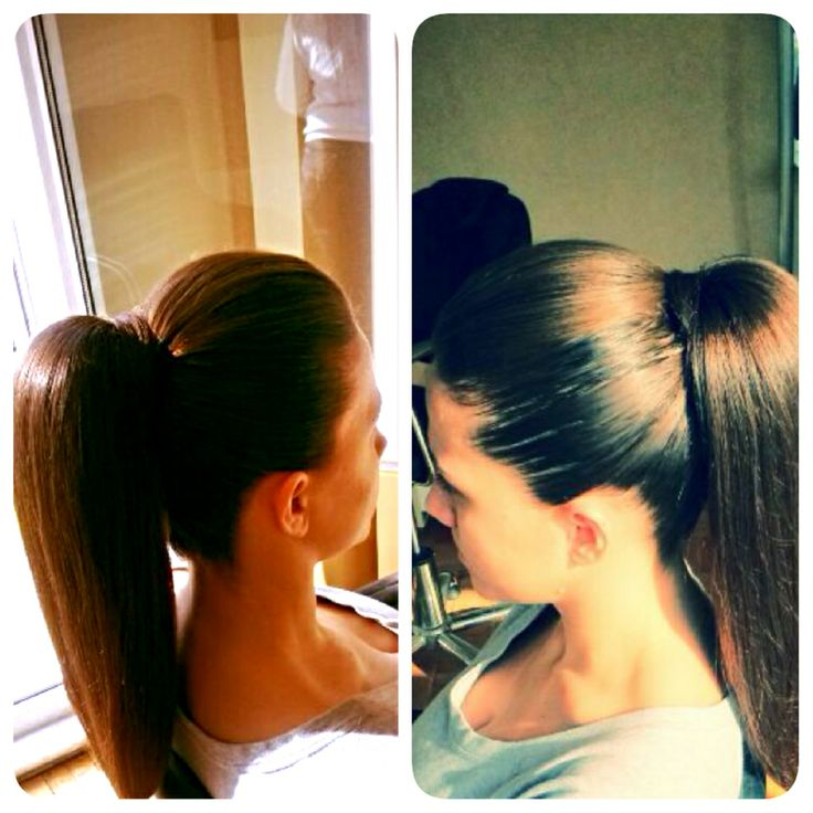 At kuyruğu #hair #hairstyle