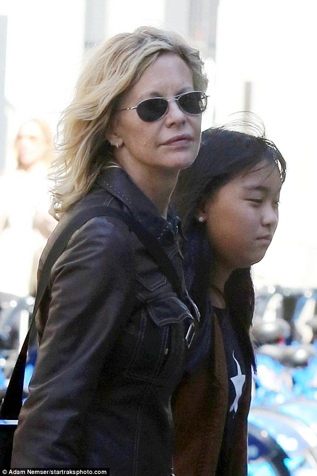 Doting mom: Ryan adopted Daisy True from China in 2006 when she was just 14 months old