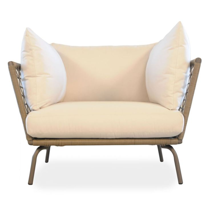 Lloyd Flanders SoHo All Weather Wicker Lounge Chair. Outdoor ...