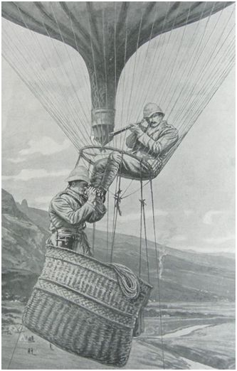The Balloon used at Paardeberg was called 'The Duchess of Connaught'.