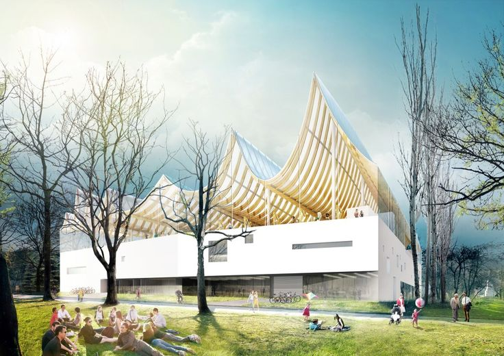 "Competition Entry: Fundamental Envisions ""House of Hungarian Music"" for Budapest"