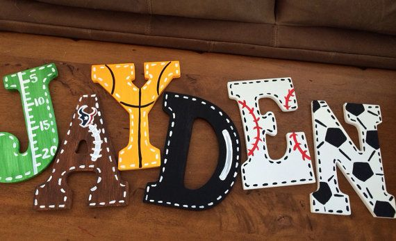 25 Best Ideas About Large Wooden Letters On Pinterest