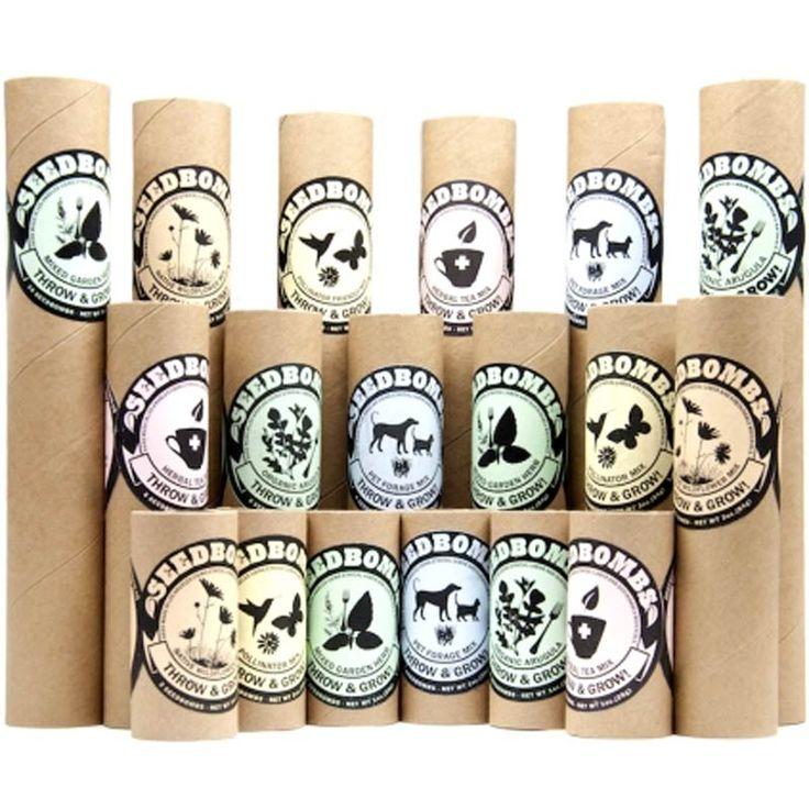 product - greenaid seedbomb tubes