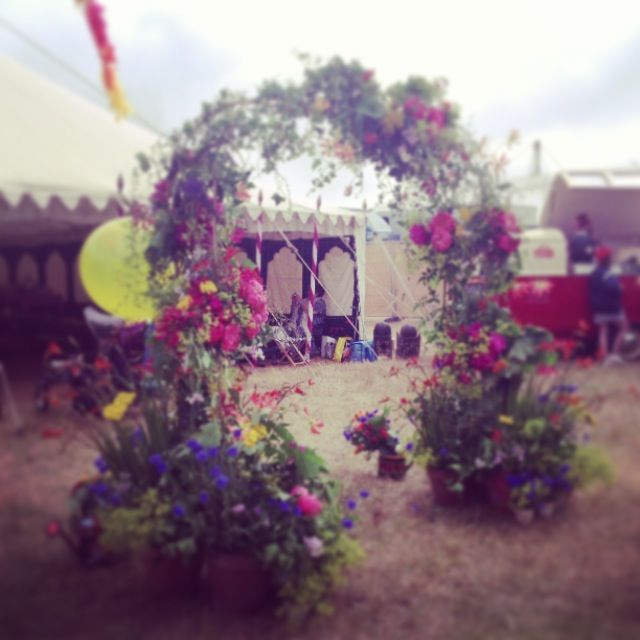 Festival wedding joy!