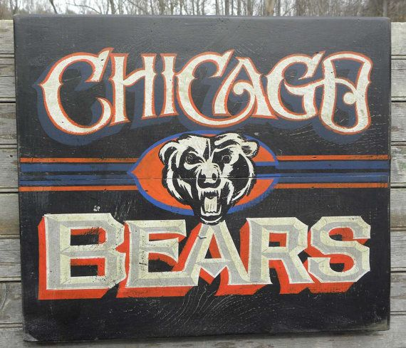 Chicago Bears Wall Art best 25+ chicago bears room ideas on pinterest | da bears, chicago