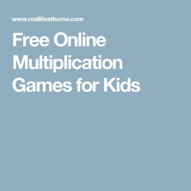 Free Online Multiplication Drills - Scalien