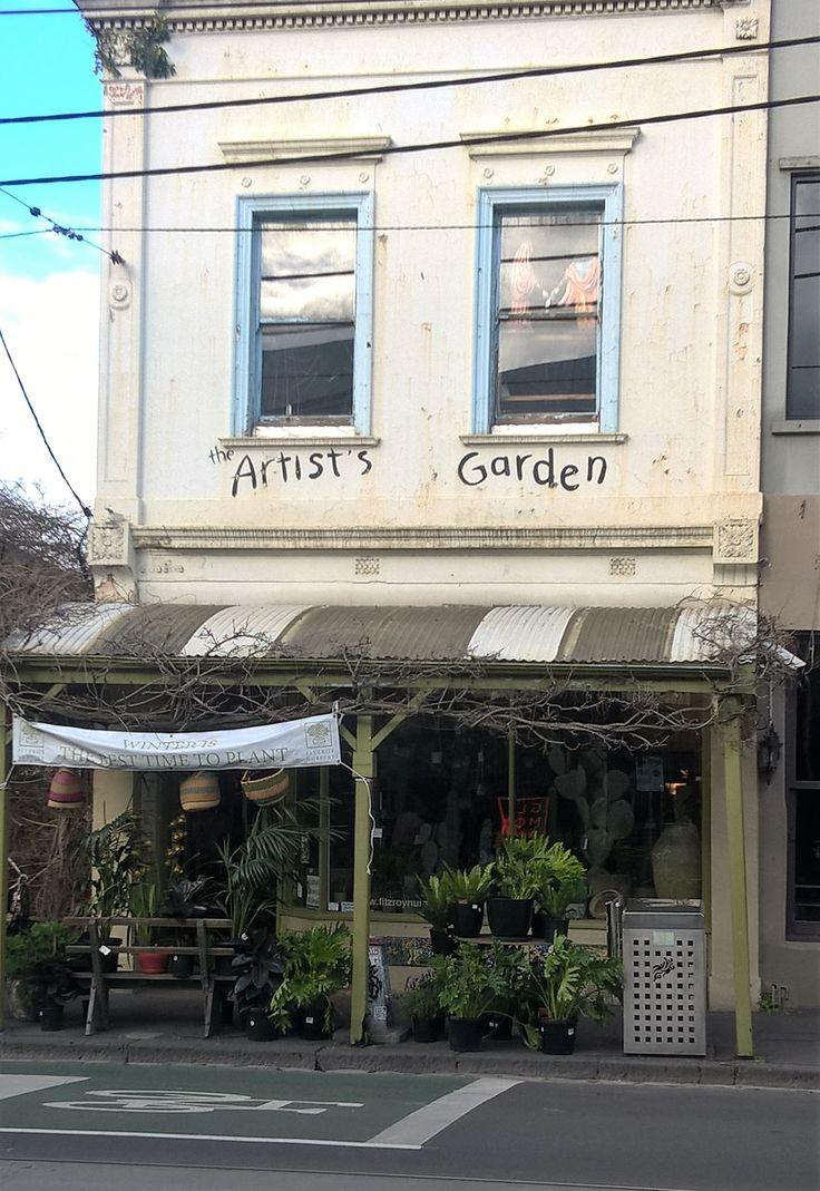Artist's Garden in Brunswick Melbourne