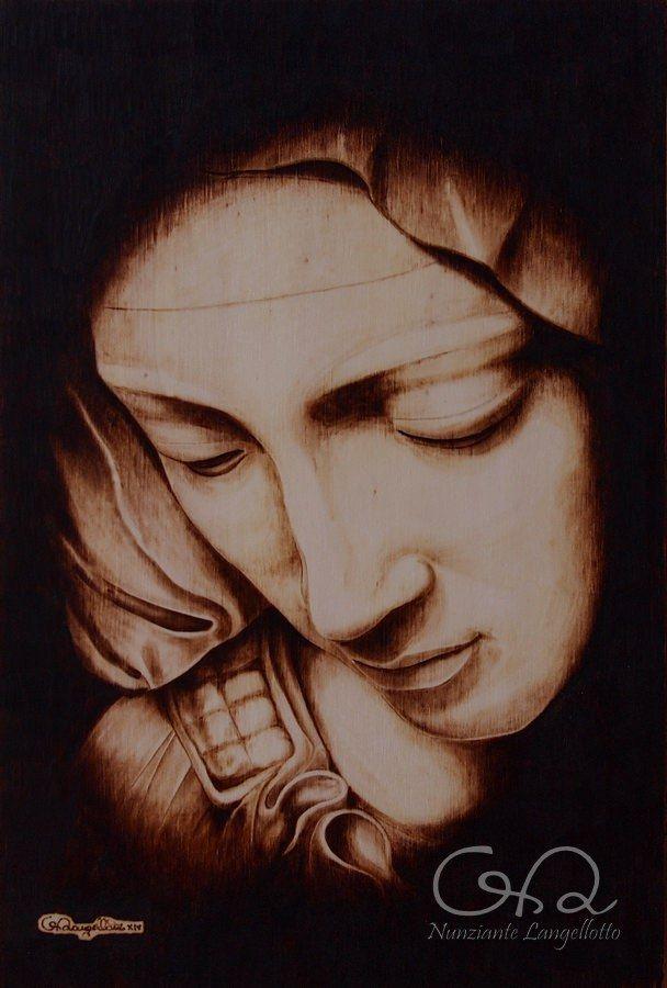 Pietà Michelangelo (Maria) 20x30cm