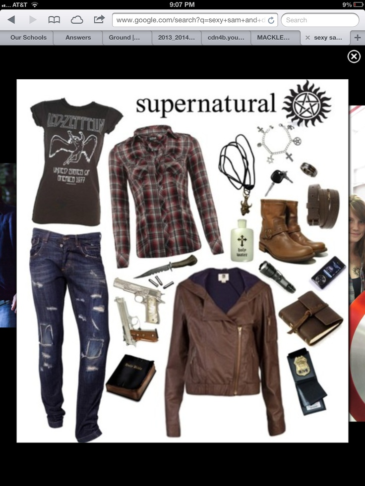 Me and sams Halloween costume this year!!! Oh Sam and dean Winchester you are my two favorite people.