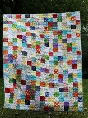 My great grandmothers quilt finally died :(, so I'm going to make one this year to pass down through the Rain. :)  clothing patchwork quilt...for my babies old clothes!