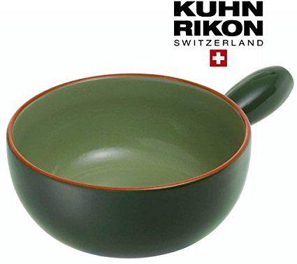 Kuhn Rikon Käsefondue Caquelon Trend in Grün
