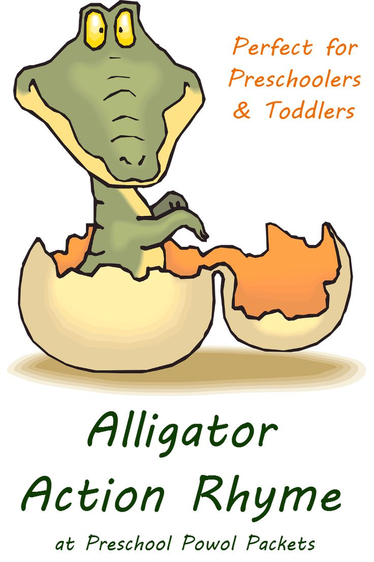 This alligator action rhyme for preschoolers is perfect for spring and summer fun, babies themes, and the letter A!