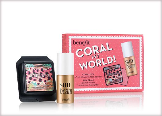 Benefit Cosmetics - Coral My World! #benefitgals