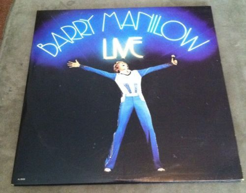 Barry Manilow - Live (2 Stereo LP Set) (33 RPM)
