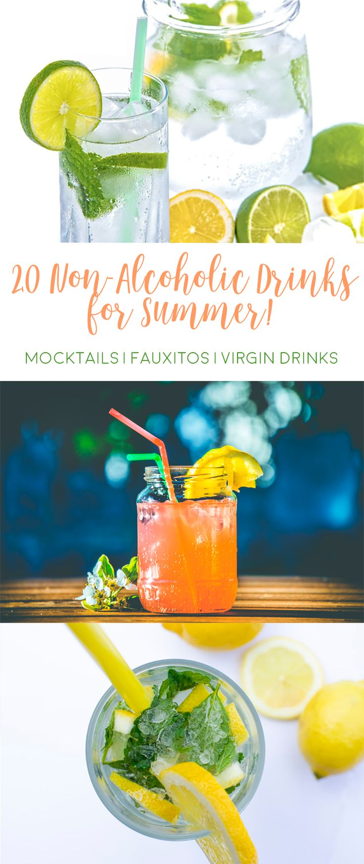 20 Non-Alcoholic Drinks for Summer