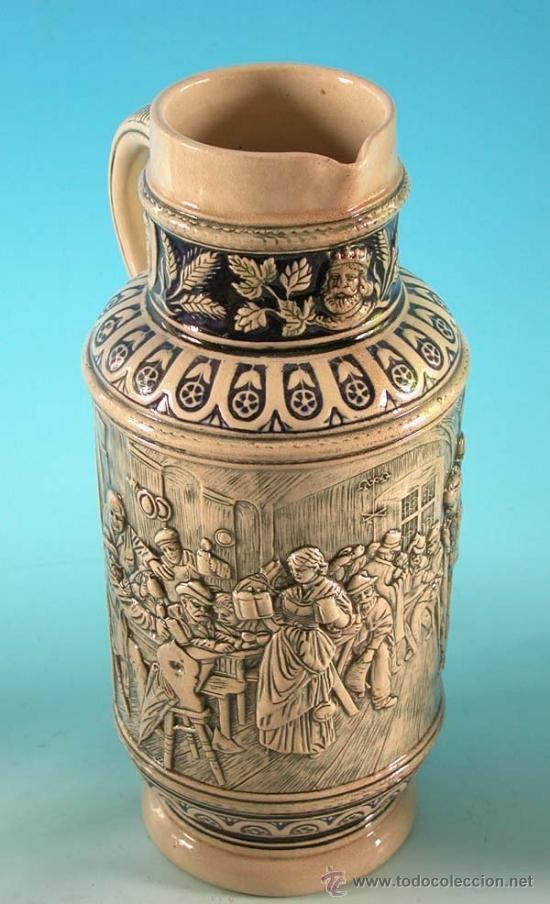 Vaso de cristal tallado a mano vintage