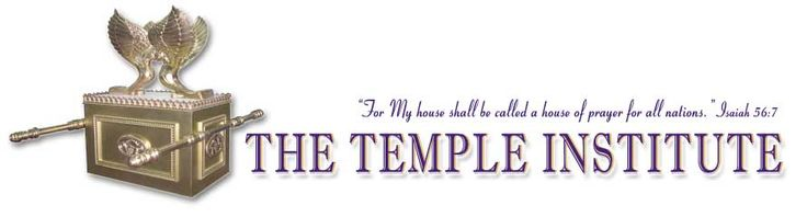 The Temple Institute: The Holy Temple in Jerusalem: Awesome website to learn all about the Jewish temple, lots of detail; also publishers of the book Jake photographed from Grandpa Lynn.