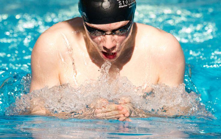 William Mikal at Jugendswim march 2014. Best Swimmer Award - Ålesund, Norway.