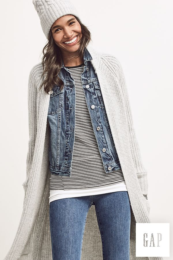 It's almost like stripes were made for sweaters. Shop all our fall layers at gap.com.