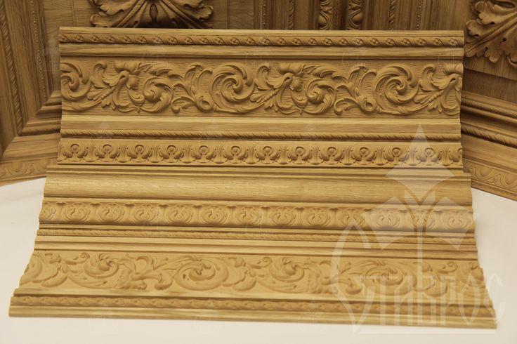Декоративные молдинги из древесной пасты (пульпы) – это доступное по стоимости и красивое украшение мебели, интерьеров и кессонных потолков. Помимо привлекательной цены и внешнего вида, эти изделия отличает экологичность, долговечность и надежность. Decorative moldings from wood paste (pulp) is affordable and beautiful decoration of furniture, interior and coffered ceilings. This product is characterized by environmental friendliness, durability and reliability. #design #decor #interior