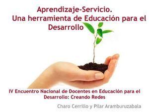 Calaméo - Aprendizaje-Servicio. Una herramienta de Educación para el Desarrollo